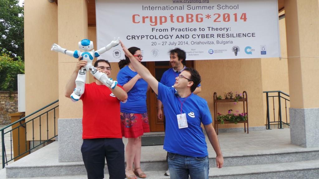 CryptoBG*2014 - With NAO