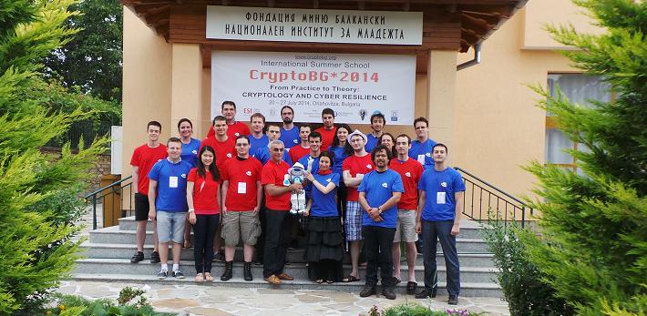 <center>Red & Blue team from CryptoBG*2014</center>