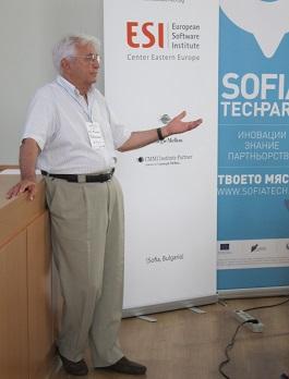 Prof Balkanski - keynote at the opening